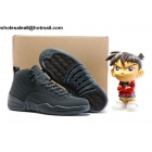 Air Jordan 12 PSNY Dark Grey Mens Basketball Shoes