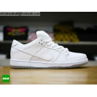 wholesale Nike SB Dunk Low PRO All White Ice Mens & Womens Shoes