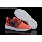 Womens Nike Roshe Run Orange White Black