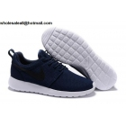 wholesale Mens & Womens Nike Roshe Run Dark Blue White Black