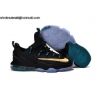 Nike Lebron 13 Low Black Gold Mens Basketball Shoes