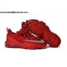 wholesale Nike Lebron 13 Low USA All Red Mens Basketball Shoes