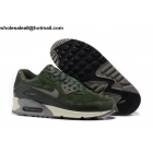 wholesale Mens & Womens Nike Air Max 90 Leather Carbon Green