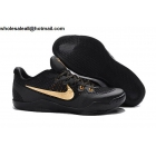 NIKE KOBE 11 EM Black Gold Mens Basketball Shoes