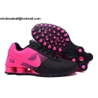 Womens Nike Shox Deliver Black Pink Running Shoes