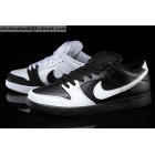 wholesale Mens & Womens Nike SB Dunk Low PRM Yin Yang White Black