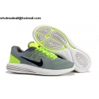 wholesale Nike LunarGlide 8 Flash Grey Volt Mens Running Shoes