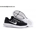 Nike LunarGlide 8 Flash Black White Mens Running Shoes
