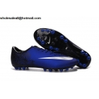 wholesale Nike Mercurial Vapor X AG CR7 Blue Silver Mens Cleats