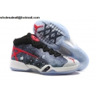 wholesale Air Jordan 30 Cosmos Grey Red White Mens Basketball Shoes