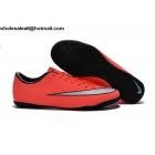 wholesale Nike Mercurial Victory V IC Mango Silver Mens Indoor Soccer Cleats