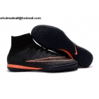 wholesale Nike MercurialX Proximo IC Black Mango Indoor Soccer Cleats
