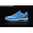 wholesale Mens Nike Air Max 2016 Blue White Size US7 - US13