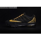 Mens Nike Air Max 2016 Black Gold Size US7 - US13