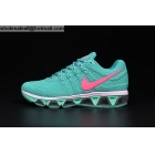wholesale Womens Nike Air Max Tailwind 8 Green Pink Running Shoes