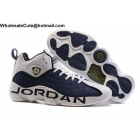 wholesale Mens Jordan Jumpman Team II White Midnight Navy