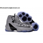 wholesale Nike LeBron 13 Elite Grey Black Mens Basketball Shoes