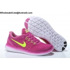 wholesale Womens Nike Free RN Purple Volt Running Shoes