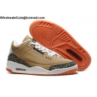 wholesale Air Jordan 3 Retro Beige White Cement Mens Basketball Shoes