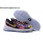 Nike KD 8 Floral Flower Print Mens Basketball Shoes