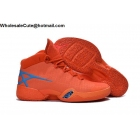 Air Jordan 30 Orange Blue Mens Basketball Shoes