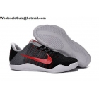 wholesale NIKE KOBE 11 Tinker Hatfield Cool Grey Black Red