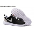 wholesale Nike Roshe One Retro Black Grey White Mens Trainer
