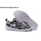 wholesale Mens  & Womens Nike Roshe One Print Premium White Black