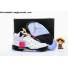 wholesale Air Jordan 5 Olympic Gold Tongue Mens & Womens