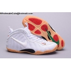 wholesale Womens Nike Air Foamposite Pro White GUM