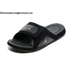 wholesale Jordan Hydro 12 Retro Black Mens Slide Sandals
