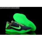 wholesale Nike Kobe 11 Glow in the Dark Blue Grey