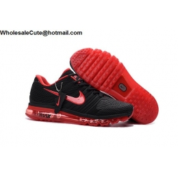 Nike Air Max 2017 Black Red Womens Running Shoes