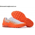 wholesale Mens & Womens Nike Air Max Invigor Orange White