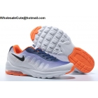 wholesale Mens & Womens Nike Air Max Invigor White Navy Orange