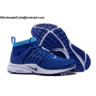 wholesale Nike Air Presto Ultra Flyknit Blue White Mens Running Shoes