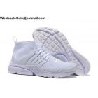 wholesale Mens & Womens Nike Air Presto Ultra Flyknit All White