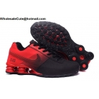 wholesale Mens Nike Shox Deliver Black Red Running Shoes