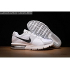 wholesale Nike Air Max Sequen White Black Mens Running Shoes