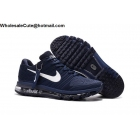 wholesale Mens Nike Air Max 2017 Dark Blue White Size US7 - US13
