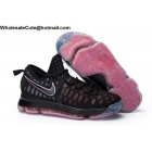 wholesale Nike KD 9 Black Multicolor Mens Basketball Shoes