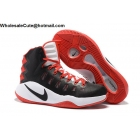 wholesale Mens Nike Hyperdunk 2016 Black Red White