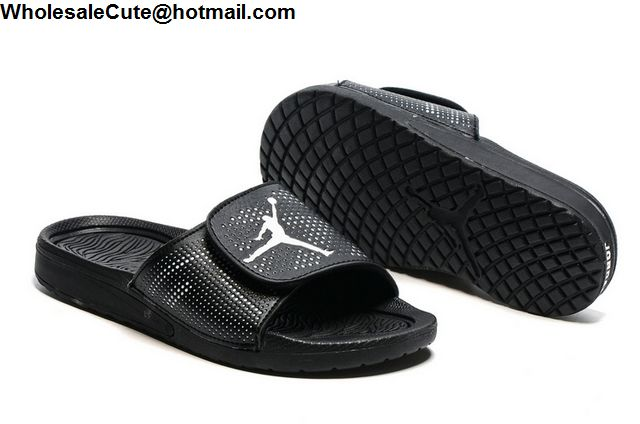9c7bdaa820a6 Womens Jordan Hydro 5 Retro Black Slide Sandals -13247 - Wholesale ...