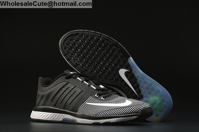 cute purchase cheap special sales Mens Nike Zoom Speed Trainer 3 Black White -13267 ...