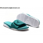 wholesale Jordan Hydro 5 Retro Green White Mens Slide Sandals