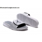 wholesale Jordan Hydro 5 Retro White Silver Mens Slide Sandals