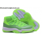 Womens Air Jordan 11 Neon Green PE