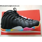wholesale Womens Nike Air Foamposite One GS Black Fruity Pebbles