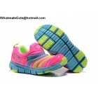 wholesale Nike Dynamo Free Pink Teal Volt Kids Shoes