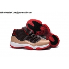 Mens Air Jordan 11 Retro Brown Beige White